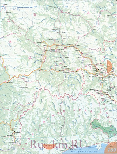 Якутия карта дорог 2012.