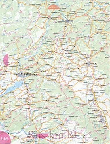 Новосибирская область карта
