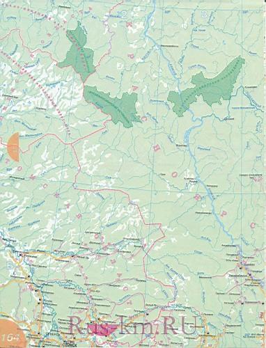 Томская область карта дорог