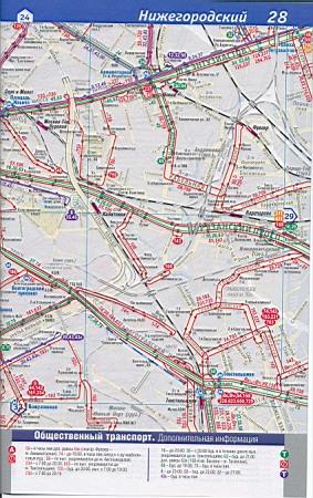 Карта ЦАО Москвы. Карта Москвы