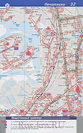 Карта ЮАО Москвы. Транспортная