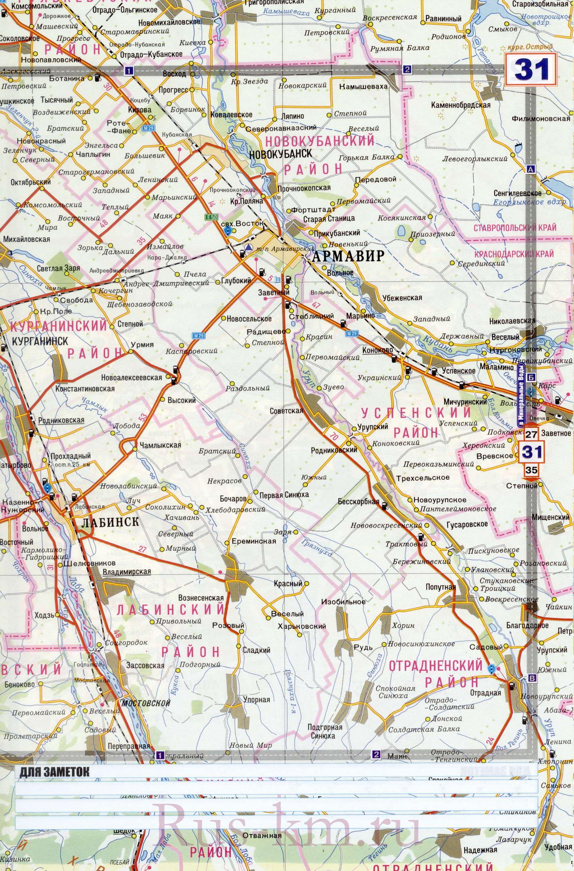 Карта дорог подробная карта